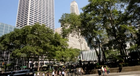 bryant park near clue chase