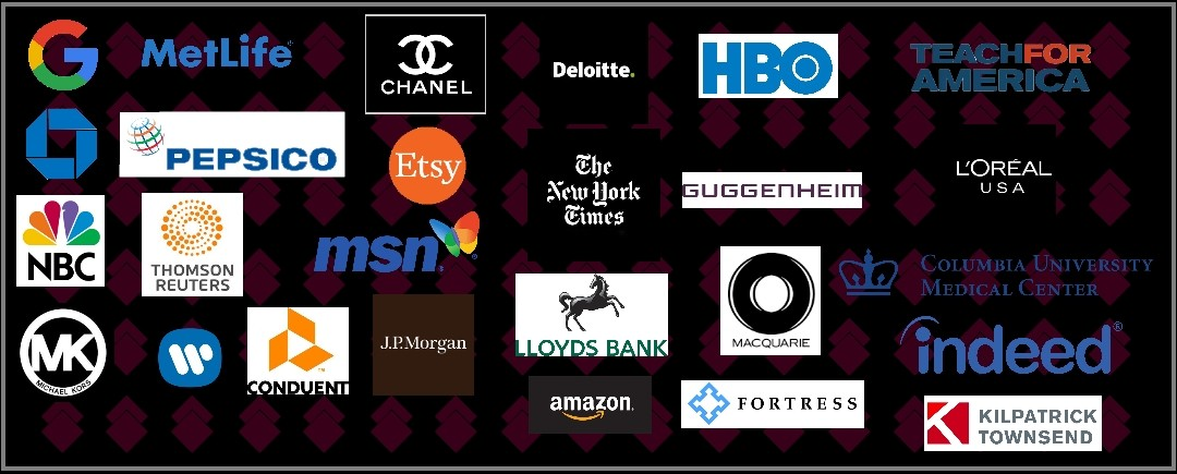 a image of the logos of some of our corporate clients