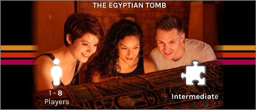 egyptian tomb escape room banner