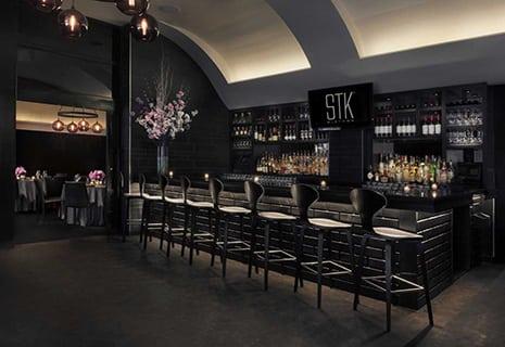 interior shot of STK steakhouse